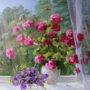 Весняне вікно.2011.п.о..65х70 2
