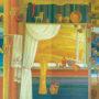 Подільська осінь. кольорові левкаси, 280х600 Попенко О.С.