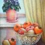 Ваза з фруктами 1985р 50х70