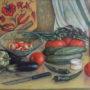 Натюрморт з овочами 1991р 50х70